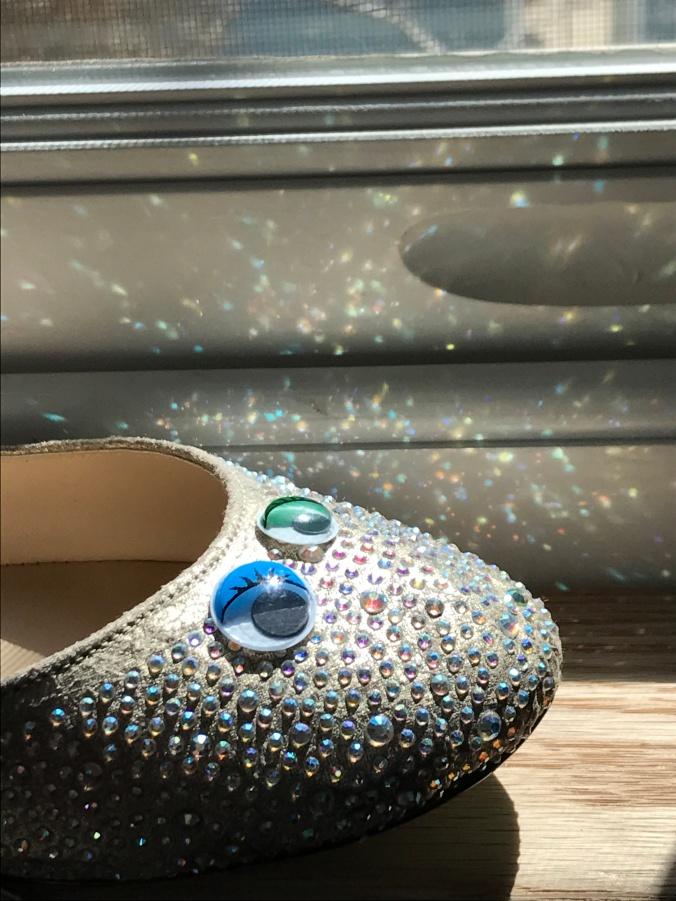rainbow shoe 1