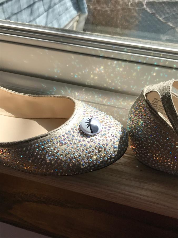 rainbow shoe 2